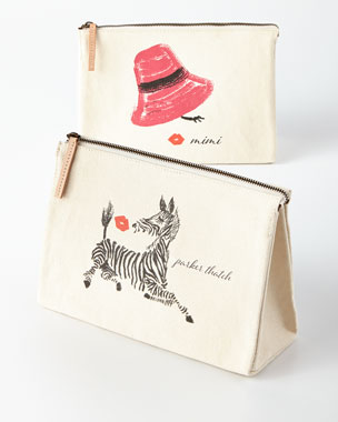 Parker Thatch Personalized Cosmetics Bags