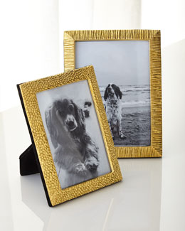 Textured Brass Frames