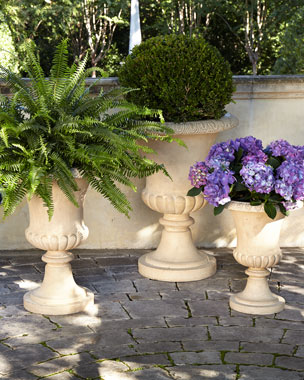 NM EXCLUSIVE Andros Traditional Urn Planters
