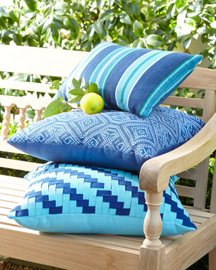 Elaine Smith American Summer Outdoor Pillows