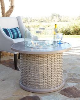 Madison Bay Firepit & Glass Screen