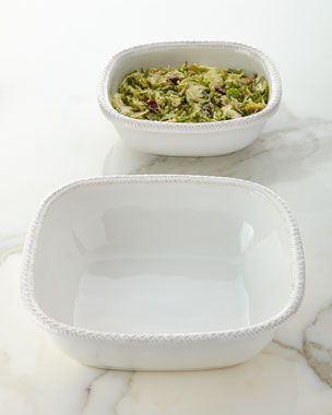 Juliska Le Panier Square Serving Bowls