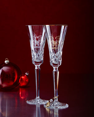 Waterford Partridge-in-a-Pear-Tree Flutes