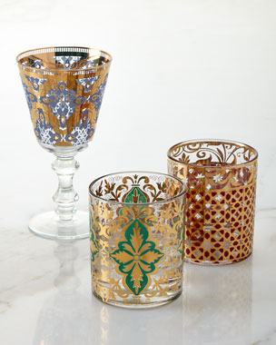 Patina Vie Continental Rocks Glasses & Goblets