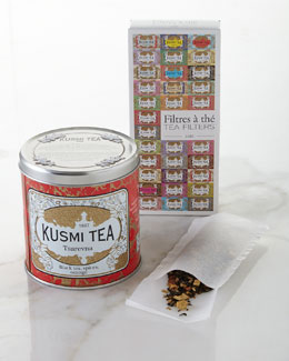 Kusmi Tea Tsaverna Holiday Tea & Paper Tea Filters