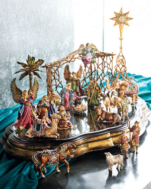 Jay Strongwater Nativity Set