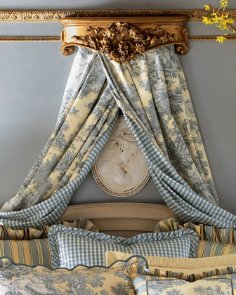 Lutece Cypress Toile Curtains