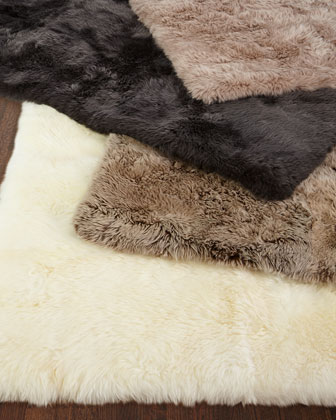 Effie Sheepskin Rug, 8' x 11' and Matching Items