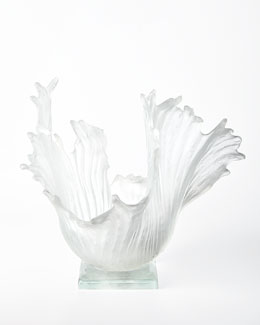 Ice Ribbons Sculpture