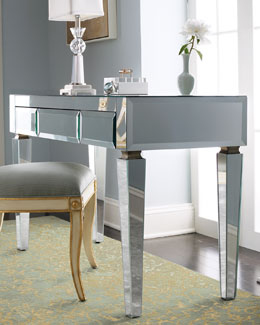 Mirrored Desk