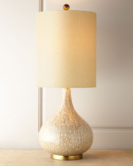 "John-Richard Collection ""Drip Glaze"" Lamp"