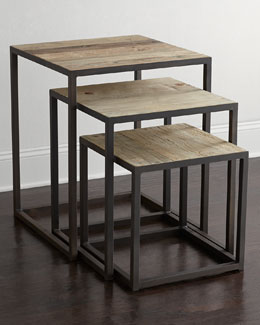 Three Finder Nesting Tables