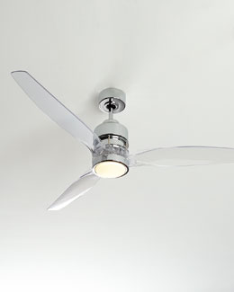 "Milo 52"" Acrylic Ceiling Fan"