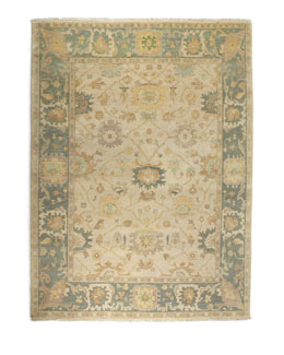 Exquisite Rugs Shelton Oushak Rug, 9' x 12'