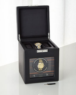 Roadster Single Watch Winder with Storage