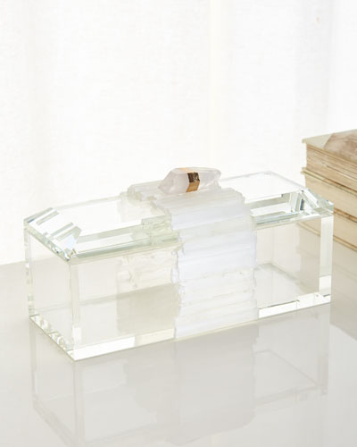 Crystal Box with Selenite Band