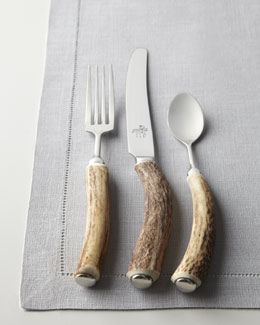 Vagabond House Five-Piece Stag Horn Flatware Place Setting