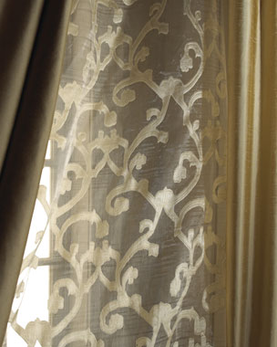 Dian Austin Couture Home Venetian Scroll Sheers