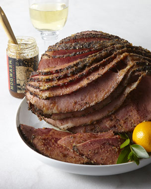 Ham I Am! Hickory-Smoked Peppered Ham