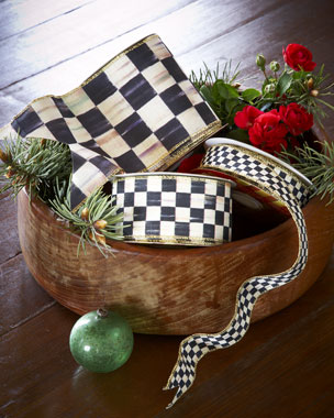 MacKenzie-Childs Courtly Check Ribbon