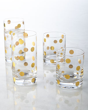 kate spade new york Dot Glassware