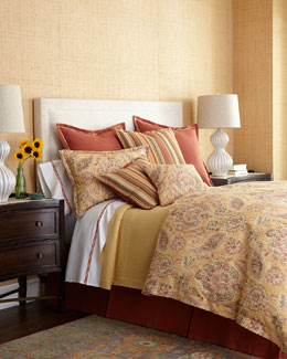 Lucia Bedding & Fresco Coverlet