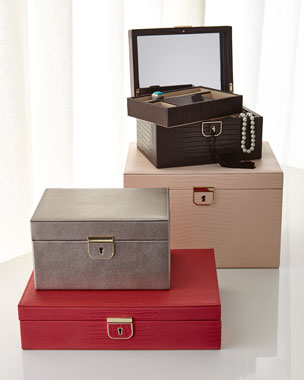 WOLF Palermo Jewelry Boxes