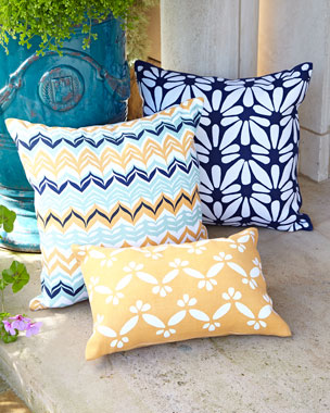 John Robshaw Zanzibar Indoor/Outdoor Pillows