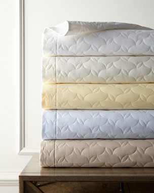 SFERRA Quilted Percale Bedding