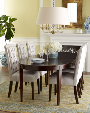 Haute House Sweetheart Dining Chair & Allerton Dining Table