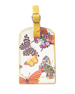 Butterfly Garden Luggage Tag