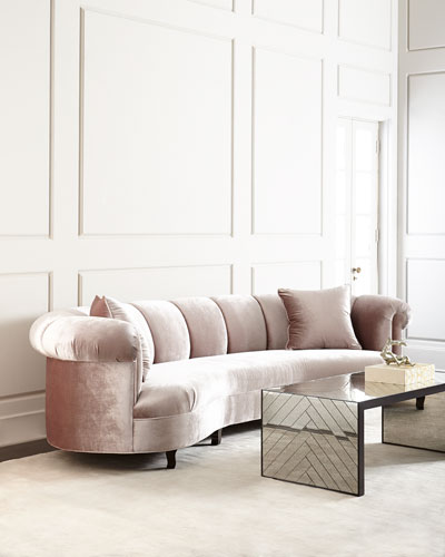 Audrey Channel-Tufted Sofa