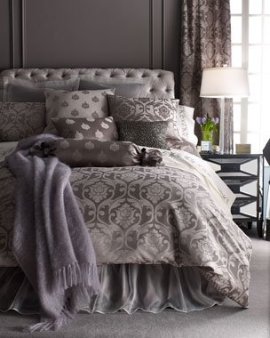 Fino Lino Linen & Lace Charleston Bedding & 350TC Charleston Sheets