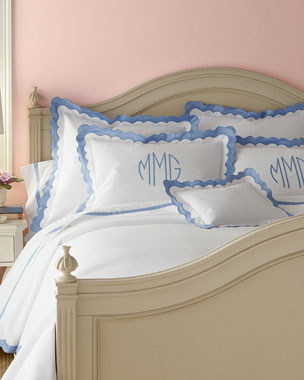 Matouk Paloma Bedding & Lowell 600TC Sheets