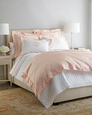 Matouk Nocturne & Lorelei Bedding & 600TC Lorelei Sheets