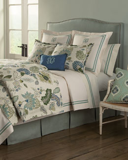 Gemma Aqua Bedding & Somerset 200TC Sheet Set