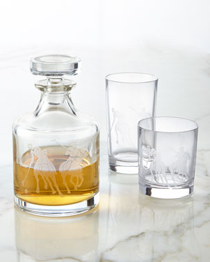 Ralph Lauren Garrett Decanter & Glassware