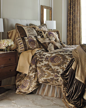 Dian Austin Couture Home Gatsby Bedding & 624TC Sateen Sheets
