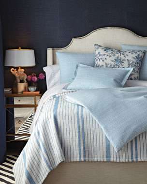 John Robshaw Diamond-Pattern Chambray Bedding