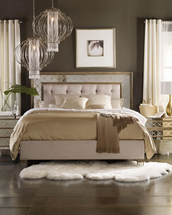Ilyse Mirrored Bedroom Furniture