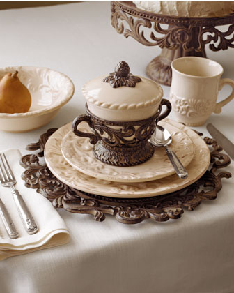20-Piece Ceramic Dinnerware Service