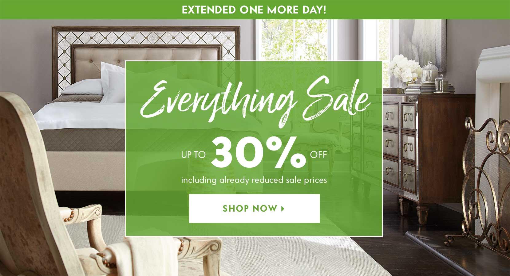 Dinnerware, Bedroom Furniture, Chandeliers & Sectional