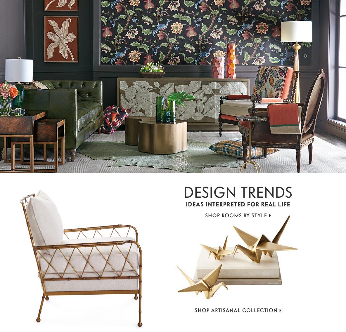 Furniture Furnishings: Dinnerware, Bedroom Furniture, Chandeliers & Sectional