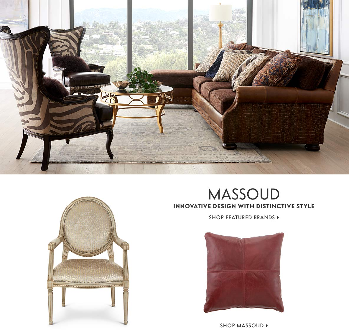 Massoud Innovative design with distinctive style