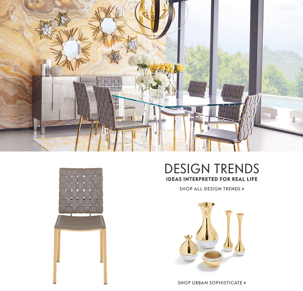 Urban Sophisticate Design Trends
