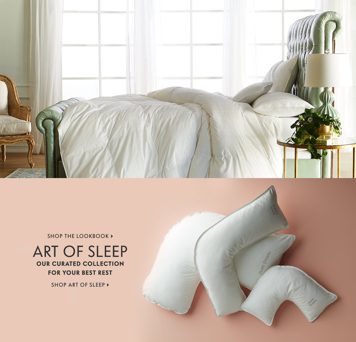 Art of Sleep Our curated collection for your best rest