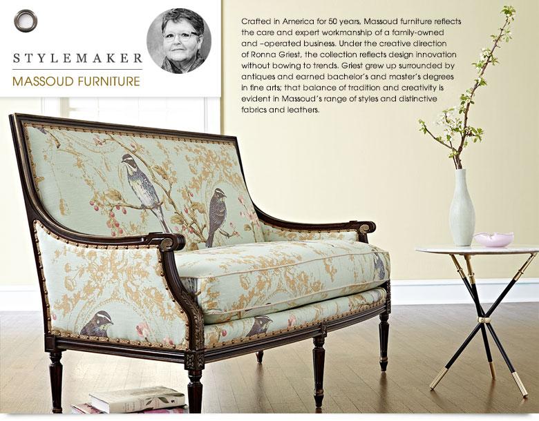 Massoud Furniture, Massoud Sofa & Massoud Chairs