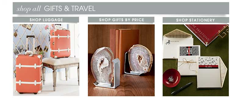 shop gifts and travel