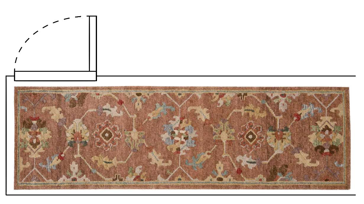 Rug Guide for hallway