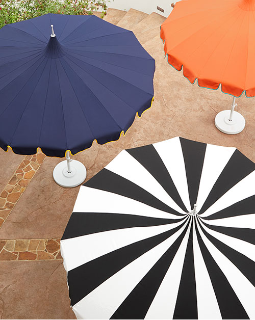 Pagoda Patio Umbrella & Stand